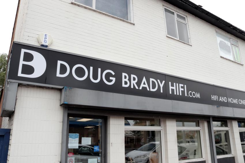 Doug Brady HiFI Shop Front