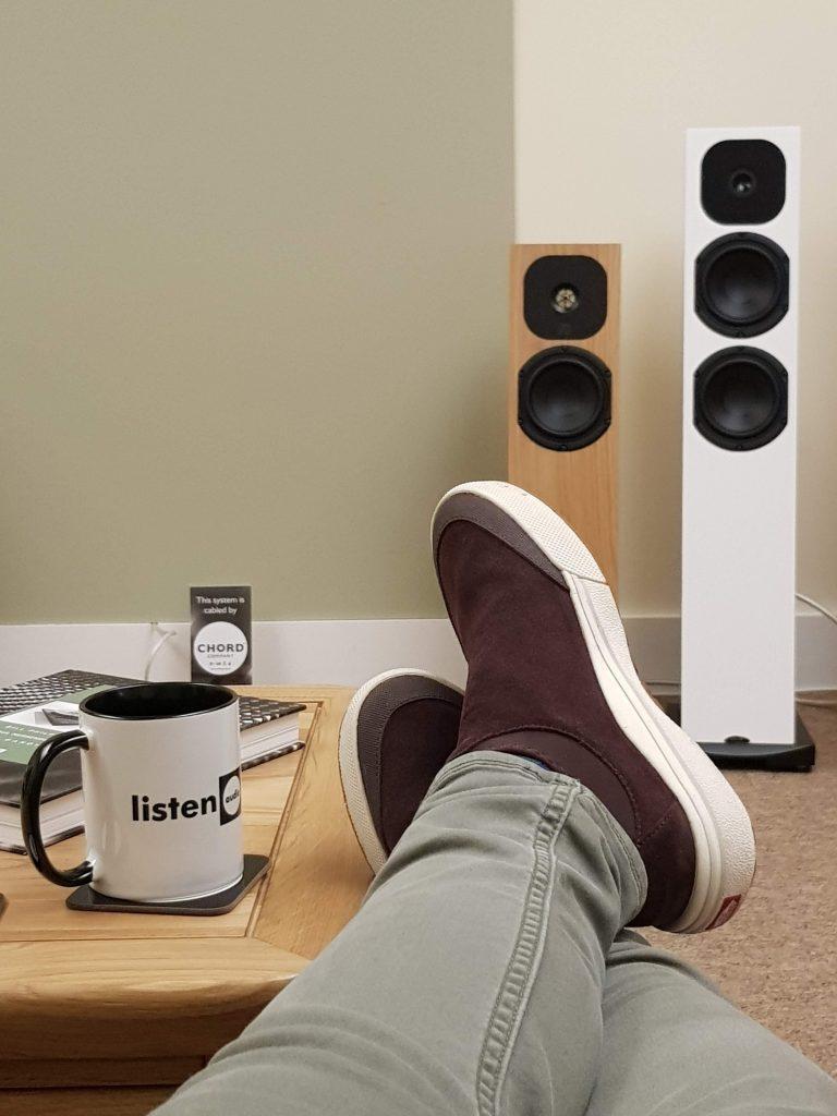 Listen Audio Feet Up