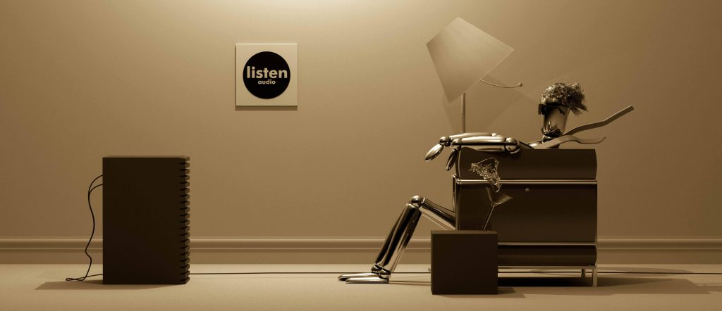 Listen Audio Seated